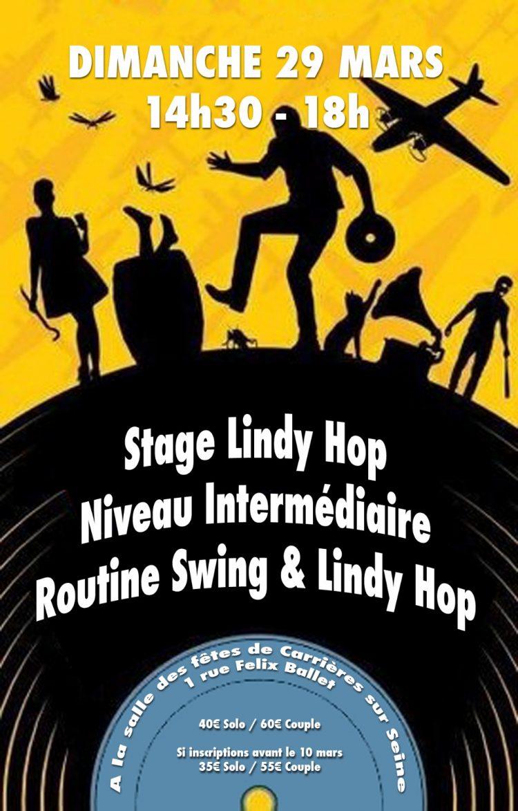 Stage Lindy Hop Niveau intermédiaire